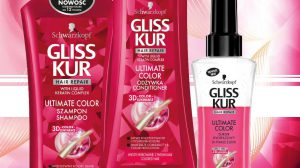 Tentador y Color Rosa: Gliss Kur Ultimate Color Bifásico con Aceite de Albaricoque